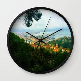 La Spezia, Italy City Panorama Wall Clock