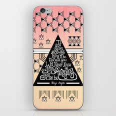 Be amazing iPhone & iPod Skin