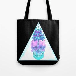 Sahasrara skull Tote Bag
