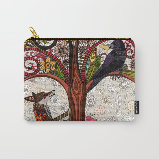 fox and crow Carry-All Pouch