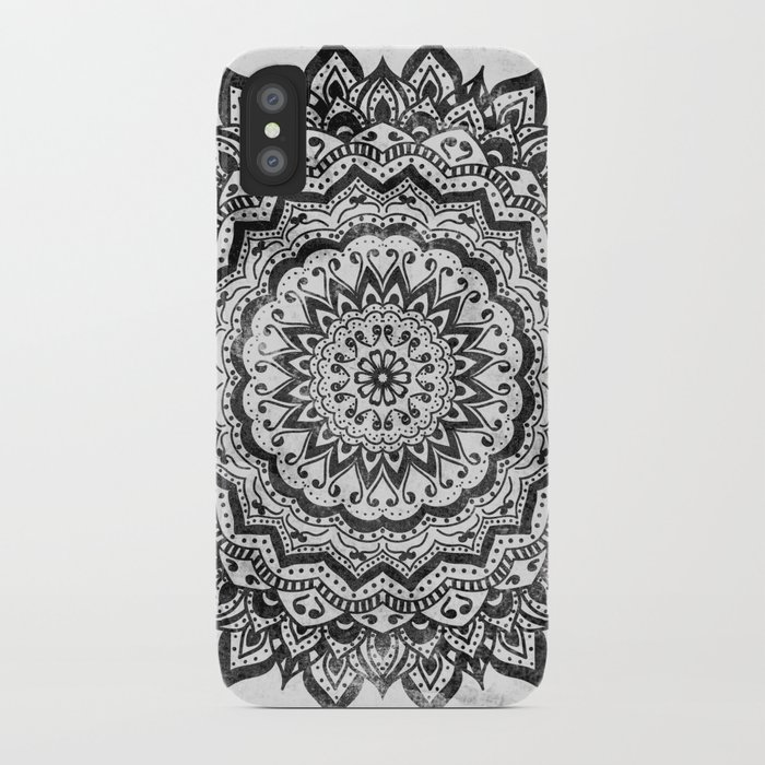 black jewel mandala iphone case
