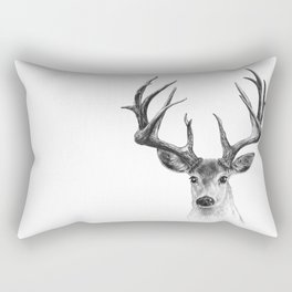 Red deer Rectangular Pillow