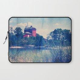 Vintage Great Lakes Lighthouse Laptop Sleeve