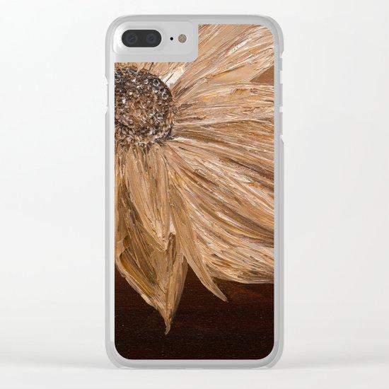 Sepia Clear iPhone Case