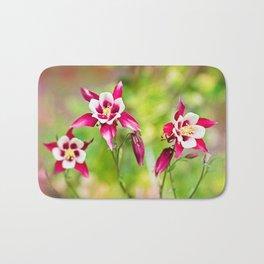 Pink flowers :) Bath Mat