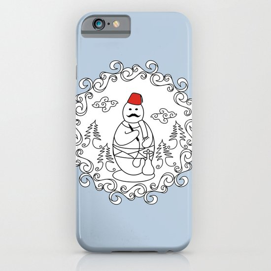 OttoSnowMan iPhone & iPod Case