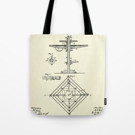 Clothes Drier-1867 Tote Bag