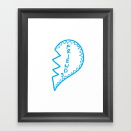 Friends2 Framed Art Print