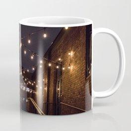 Alleyway String Lights Coffee Mug