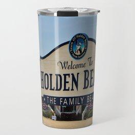 A Family Beach Travel Mug