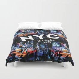 NEW-YORK (LIBERTEE CITY) Duvet Cover