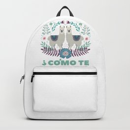 Double Llama Backpack