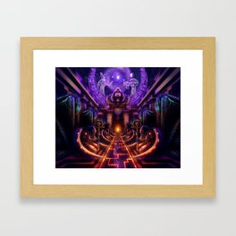 The Key is within Framed Art Print