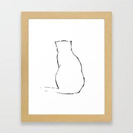 Cat 14 Framed Art Print