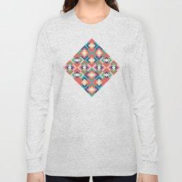 Colorful Geometric Long Sleeve T-shirt
