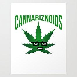 Cannabiznoids Logo Art Print