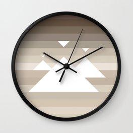Sandscape Glow Wall Clock