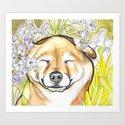 Jay Jay the happy Shiba by pawblopicasso