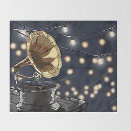 Music Outside Throw Blanket