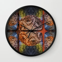 contemporary  background for texture Wall Clock