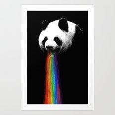 Pandalicious Art Print