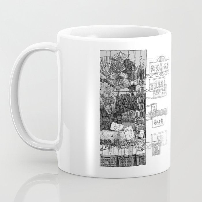 Hong Kong Series 1: Market  Coffee Mug