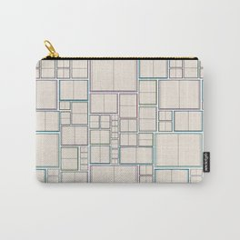Bookish Pattern Carry-All Pouch