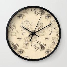 SURREAL MALE PATTERN Wall Clock