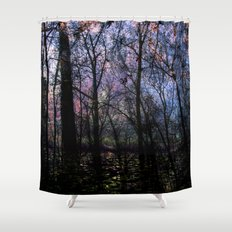 Through (variation) Shower Curtain