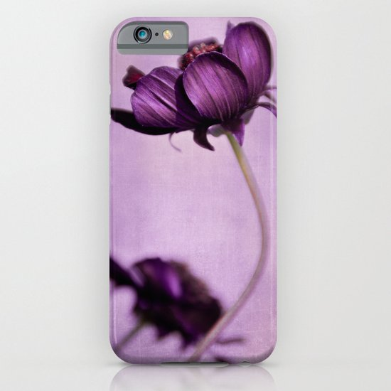 purple blossoms iPhone & iPod Case