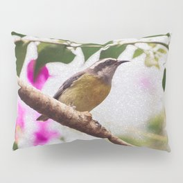 Bird - Photography Paper Effect 008 Pillow Sham