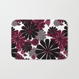 Abstract floral pattern .5 Bath Mat