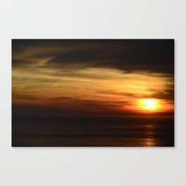 Marin Headlands Sunset Canvas Print