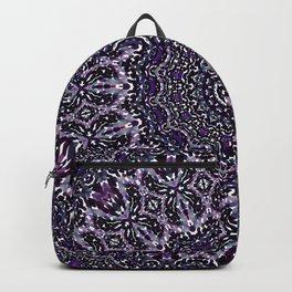 Purple, Gray, and Black Kaleidoscope 2 Backpack