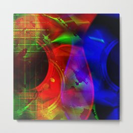 Alien Strings Metal Print