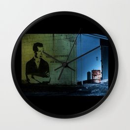 Jack Kerouac Quote On The Wall Wall Clock
