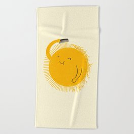 Here comes the sun Beach Towel