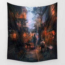 Barrio in the SE Wall Tapestry