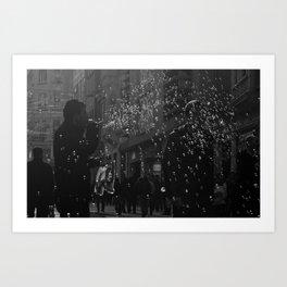 ISTANBUL ISTIKLAL STREET Art Print