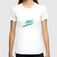chameleon T-shirts featuring Chameleon by Helena's universe