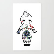 Tattooed Baby  Canvas Print