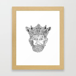 £ee $cratch Perry King of Arts Framed Art Print