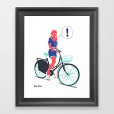 LE COOL GAL Framed Art Print