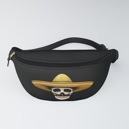 Funny Mexican Skeleton product Gift for Sugar Skull Lovers Fanny Pack
