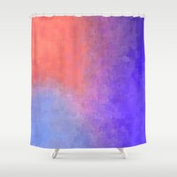 circle Shower Curtains featuring Circle by Minimalist Nation