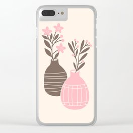 Two vases Clear iPhone Case