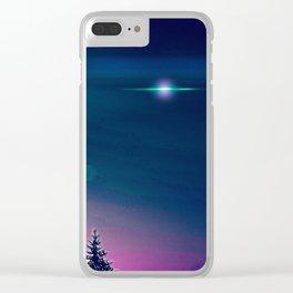 Snowtopian Dysfall Clear iPhone Case