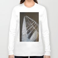 piano Long Sleeve T-shirts featuring Piano by JSwartzArt