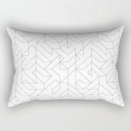 Geometric Camo Rectangular Pillow