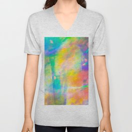 Prisms Play of Light 3 Unisex V-Neck